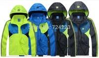 Free Shipping man spring 2014 New Men's Sportswear Hoodie Jackets coat Windbreaker Fashion Jacket