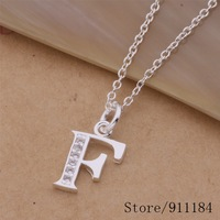P-F Free Shipping 925 sterling silver Necklace, 925 silver fashion jewelry  /bcmajtta cowalgda