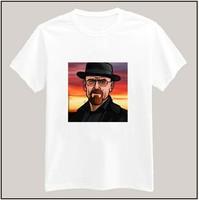 Men's Clothing Fashion Hip Hop Heisenberg Printed Women Tshirts  Cotton Casual Short Sleeve T-Shirt Top Tee Breaking Bad T shirt