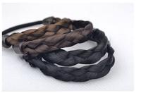 Beauty DIY Retail Black/Brown/Golden Wig Hair Band Elastic Pigtail Hair Ring Braid Maker Hair Jewelry