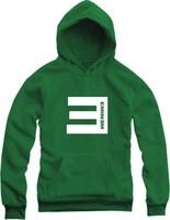 2014 New Autumn and Winter Eminem E Sweatshirt Hip-hop Worsted Outerwear Jacket Streetwear Thick Fleece Hoodies