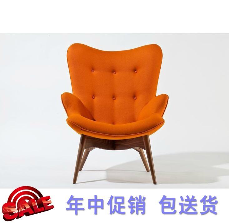 European tiger chair single sofa chair sofa fabric creative retro American country high back chair tiger(China (Mainland))