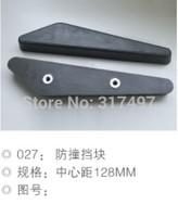 Escalators parts anti-collision pad  ,Elevator anti-collision block 128mm