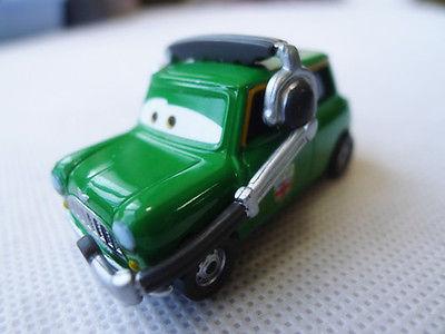 Pixar Cars Chief Austin Littleton Metal Toy Car Loose(China (Mainland))