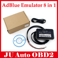5pcs/lot New Adblue 8 in 1 AdBlue Emulator with NOx sensor adblue emulator 8 in 1 for f-ord and other 7 kinds truck by DHL