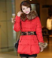 2014 New Women Down Jacket Parka with heavy fur Hat han edition women down jacket dress outerwear long coat Jacket, L-3XL!