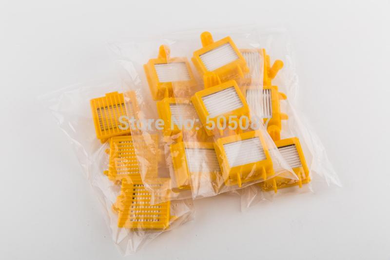 reposição 20 peças kit para irobot roomba 760 770 780 790 dupla aspiradores filtro hepa para roomba 760 770 780 790(China (Mainland))