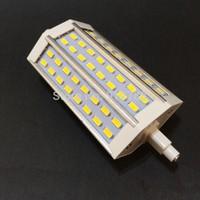 20pcs/lot Factory Outlet High Power Dimmable R7S 15W SMD 5730 led light 48led  AC85-265V 48led Corn light dhl free