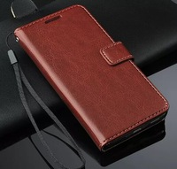 Side Flip Wallet pu Leather Case For Samsung Galaxy Alpha G850, with id card holder, mix color accept, 10pcs/lot Freeshipping