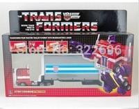 G1 Optimus Prime Container Commemorative Series Reissue Toys R Us Exclusive 2002 Robots Classic Toy Action Figure Classic