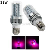 E27 360 degree Beam Angle 28W led grow light AC85-265V led corn grow light