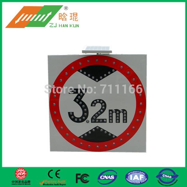 Octagon symbol traffic road solar signs(China (Mainland))