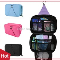 1pc New 2015 Storage Cosmetic Bag Beautician Makeup organizer Travel Hanging Wash Bag Make Up Bags With 4 Colors  -- BIB32 PT09