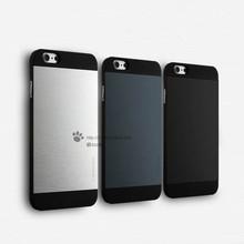 Fashion Aluminum + Plastic Hard back Hybrid Cover Case phone skin for Apple iPhone 6 & iPhone 6 Plus(China (Mainland))