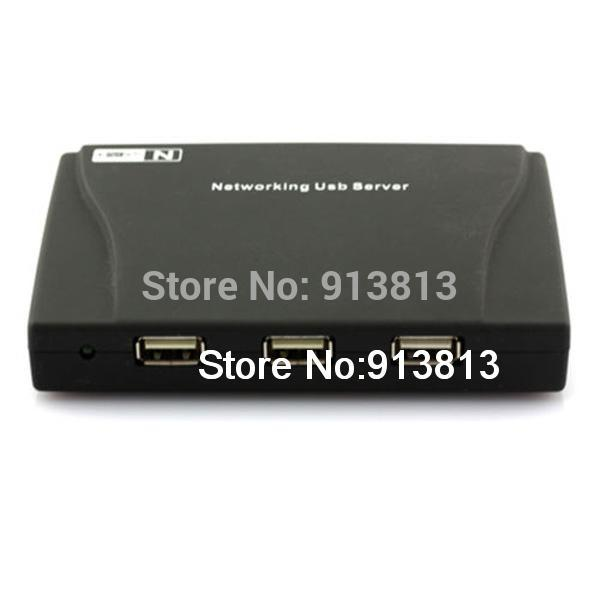 High Quality 4 Port USB HUB Lan Network Server Printer Scanner NAS SPC 0482(China (Mainland))