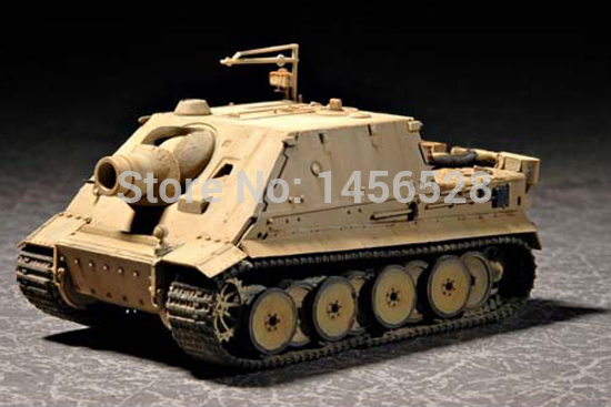 TRUMPETER 07274 1/72German Sturmtiger Early Production Assembly Model kits scale model 3D puzzle vehicle model(China (Mainland))