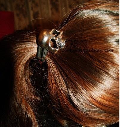 Skull Hair Band Band Punk Hollow Skull