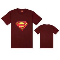 Men Black Cotton Casual Print Pattern T-shirts Men Tees Tops Short Sleeve Superman T Shirts Blouses Free Shipping XXX large