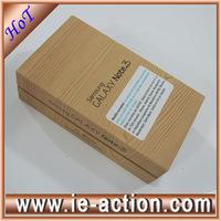 Original  samsung Note 3 box  white black