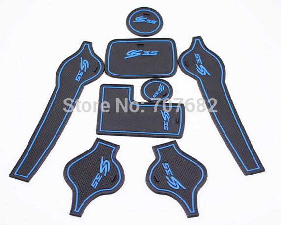 Коврик для панели в авто Refires changan cs35 8 changan cs35 changan cs35 дверь замок блокировки крышка защитная крышка защитная крышка ржавчины модификации отделка двери