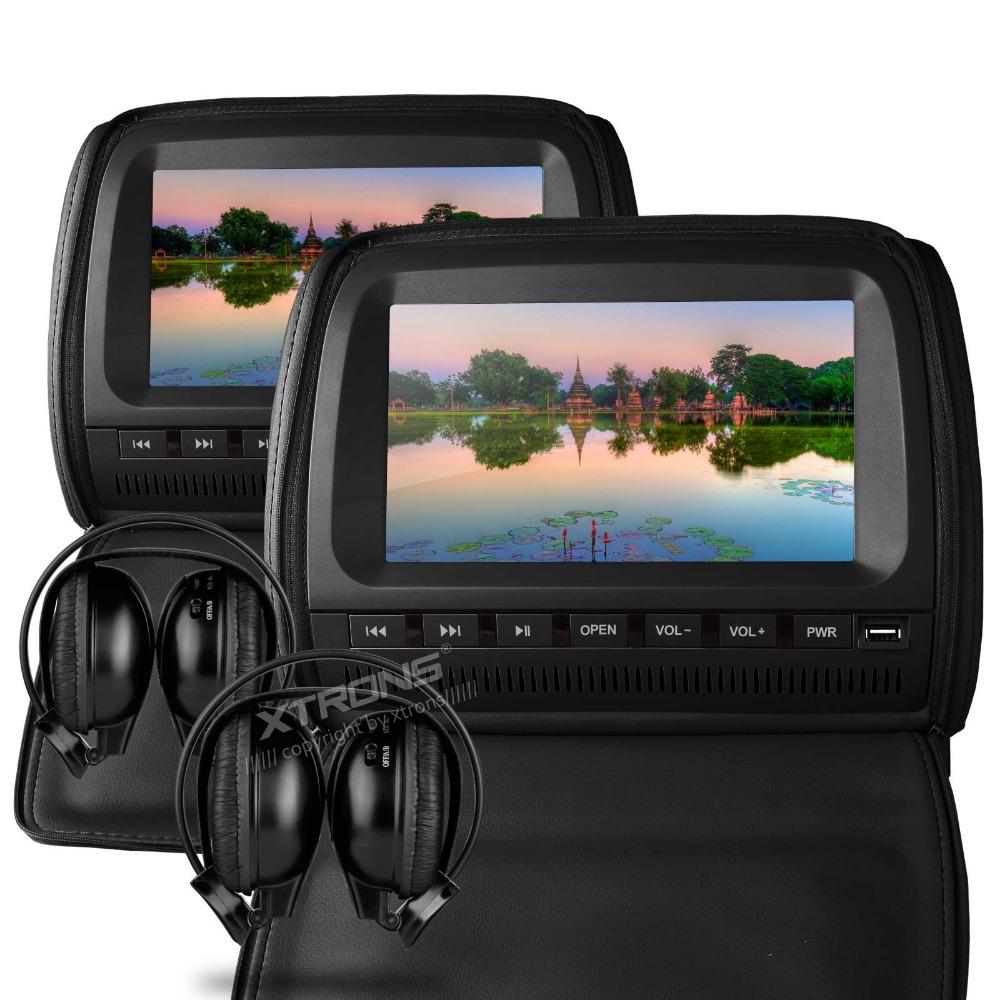 Автомобильный DVD плеер XTRONS 2 X 9 DVD/+ 2 автомобильный dvd плеер yotoon 1 2 din dvd yt hd001