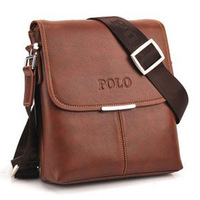 Bolsa Promotion Top Hot Sale Men Solid Cover Pillow None 2014 Men's Bag Shoulder Messenger And Clamshell Pu Leather