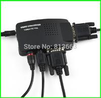 AV to VGA / S-Video to VGA Converter  Video to VGA Converter