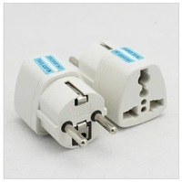 EU Adapter Convert Universal AC Power Travel Adapter Transfer Plug 2 Round Pins 250V/10A  Free Shipping