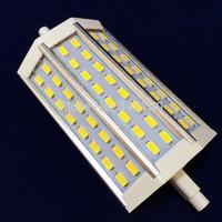 Free dhl Wholesale LEMO 30pcs/lot Led R7S Dimmable 118mm 15W 85-265V 48pcs smd 5730 1200lm