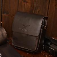 Men's bag genuine Leather shoulder bag for men vintage casual classic men bags 2014
