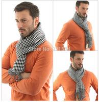 New autumn & winter classical Swallow Gird pattern Men's Scarf/fashion Cotton Cashmere Knitting scarves Man Scarf,Shawl Wrap,COY