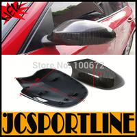 Bew Brand 1 Series E81 E82 E87 E88 Carbon Fiber Door Side Mirror Cover Caps For BMW 2010-2012
