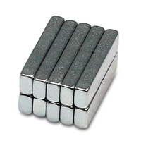10pcs Strong Block Cuboid Rare Earth Permanent Neodymium Magnets 13x3x1.8mm N40 NdFeB Magnet Free Shipping