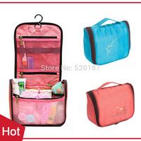 1pc New 2015 Outdoor Wash Bag Waterproof  Portable Travel Storage Bag Toiletry Cosmetic Bag Hanging Organizer -- BIB45 PT09 ST