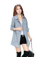 Fasot Women's Winter Wool Long Warm Coats Duffle Tweed Peacoat Outerwear  Free Shipping