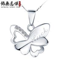 For nec  klace hot-selling short design 925 pendant female gift
