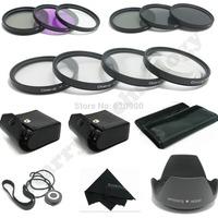 100% GUARANTEE 67MM Macro Close Up Set + UV CPL FLD/ ND 2 4 8 Filter Kit for Canon&NIKON  DSLR 15-85MM 18-200MM 28-135MM