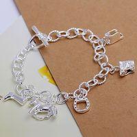 H074 925 sterling silver bracelet, 925 sterling silver fashion jewelry Horse Hoof Bracelet /alsajcza dxiamopa