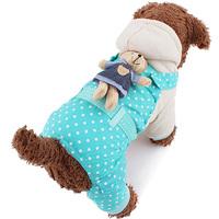 Fashion HotRomantic Spot Pattern Cotton-padded Clothes Pet Clothes for Pet Dogs