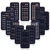 Hot Fashion Retro Rivet TPU Cellphone Case For iphone 6 4.7'' Case Studded Punk Spike Rivet Cover