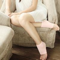 Gel Silicon Heel Sock Relieve Calluses Dry & Cracked Skin Moisturizing SPA Socks FreeShippingDropShipping