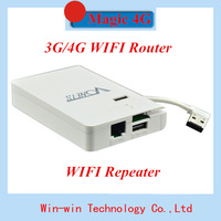 New Arrived Wireless Magic 4G WiFi 3G/4G Wireless Router Bulit-in 5000mAh Portable Power High Quality