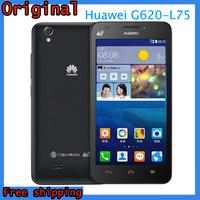 Original Huawei G620-L75  5.0''  Android 4.3 Smart Phone Qualcomm MSM8926 Quad Core 1.2GHz 5.0MP Unlock Mobile Russian Language