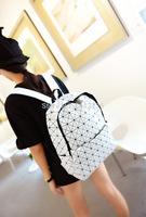 2014 Backpack new winter Korean Japanese Issey Miyake fashion men shoulder bag trend Quilted shoulder bags