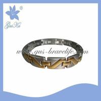 2014 Fashion  magnetic Stainless steel bracelet GUS-SB-065SG