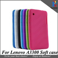 "Brand New for Lenovo 7"" A3300 high quality Sweety silicon back Case,A3300 Nice Color soft protective case cover,free shipping"