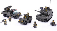 More than 600 pcs  building blocks of Army Corps children's educational toys assembled series