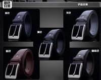 Free shipping GK8299 Leather Men's Retro casual belt