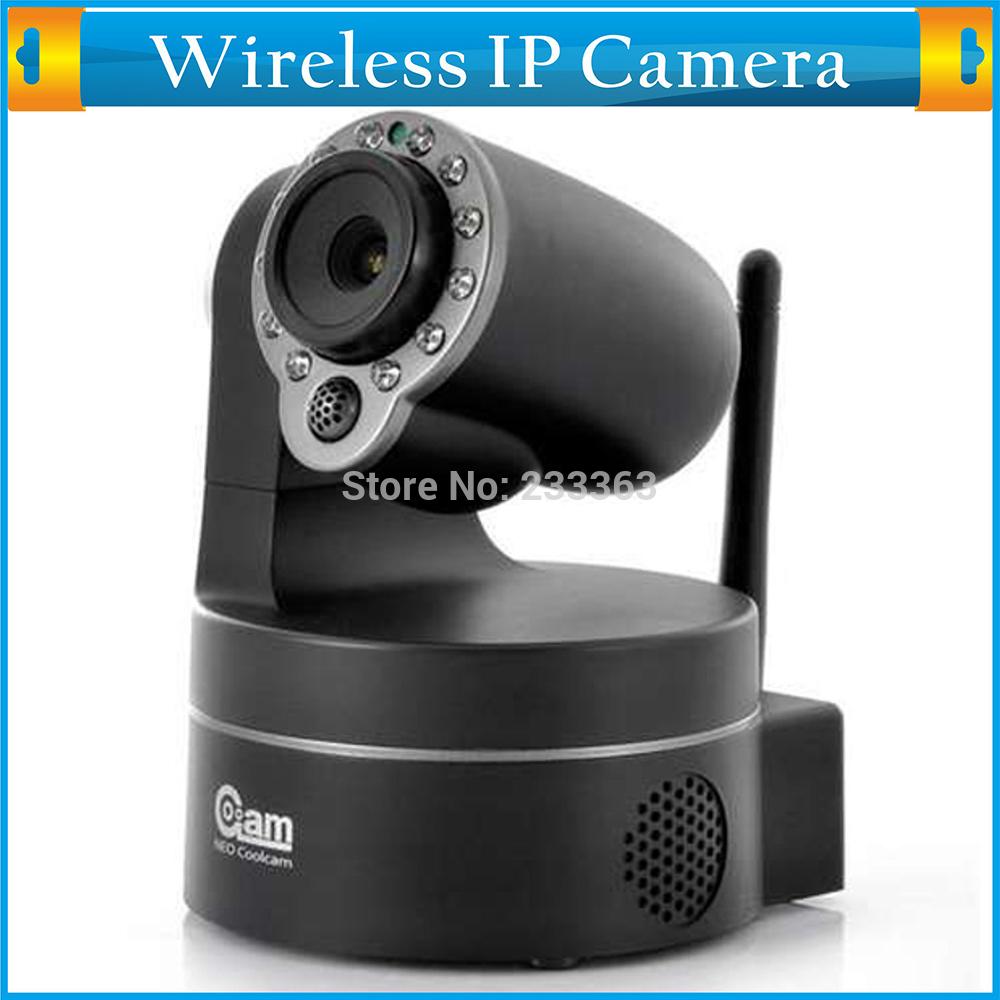 Plug&Play Dual Audio Security CCTV Camera Wireless NightVision P2P Pan/Tilt Wifi IP Camera Free iPhone/Andriod/Windows Phone App(China (Mainland))