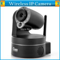 Plug&Play Dual Audio Security CCTV Camera Wireless NightVision P2P Pan/Tilt Wifi IP Camera Free iPhone/Andriod/Windows Phone App